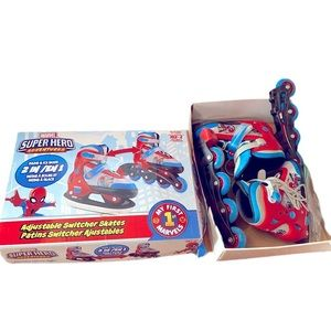 Marvel inline skates (roller blades) & ice skates
